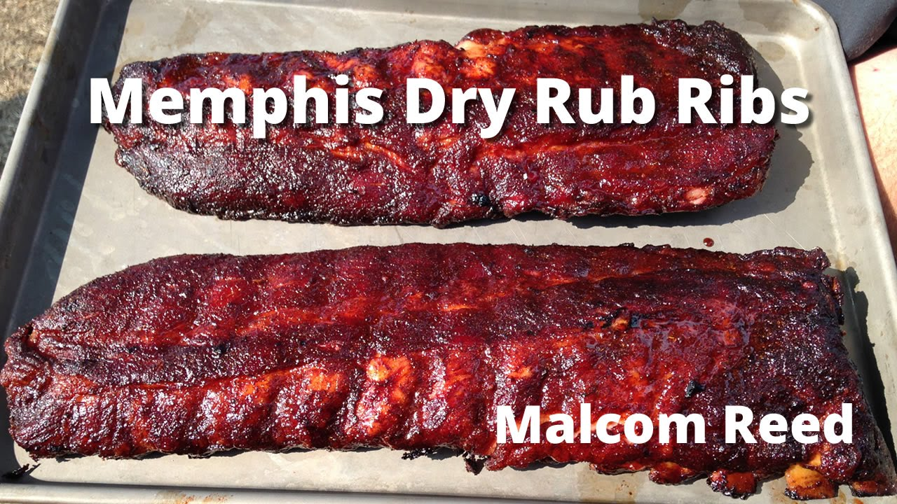 Memphis Style Rib Recipe | How to smoke Memphis Style Dry Rub Ribs ...