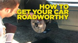 How to get your car roadworthy