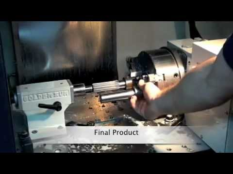 Making of a Spur Gear