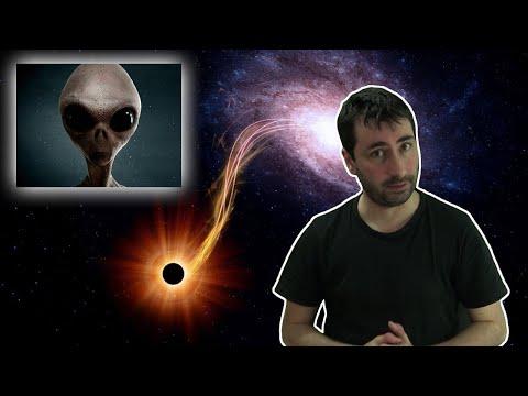 Confirman Teoría Sobre Como Alienígenas Podrían Usar un Agujero Negro Para Generar Energía