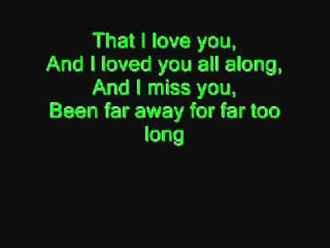 Far Away  Nickelback Lyrics   YouTube