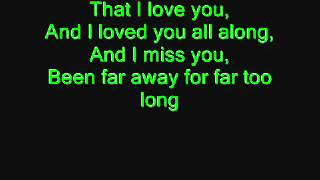 Far Away  Nickelback Lyrics   YouTube