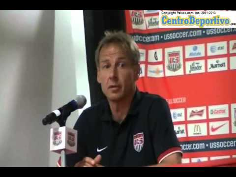 Jurgen Klinsmann offers press conference and answers questions from media