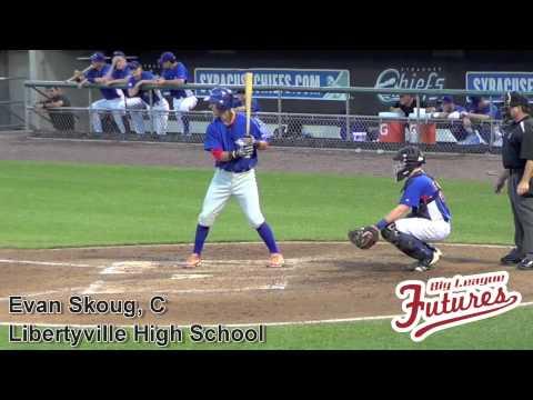 Evan Skoug Prospect Video, C, Libertyville High School #mlbdraft