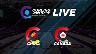 China v Canada - Men - Curling World Cup second leg, Omaha, United States