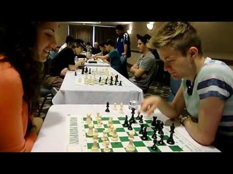 2013 Canadian Open Chess Championship Rd 3 postmortem clip   Botez vs Hambleton and slippery board