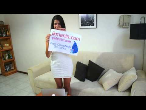 Ikman Sexy Sri Lankan Girl With Paper Trick By Free Sri Lankan Classifieds Site Ikmanin video