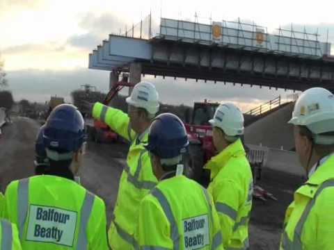 Dutch and Turkish Health and Safety Professionals visit the A46 project