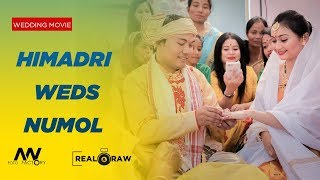 Himadri Weds Numol || Assamese Wedding Movie || Real & Raw || Art - Works ||