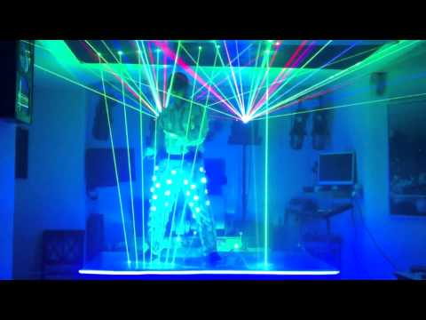 ROCK YOU - QUEEN (laser harp) playzer