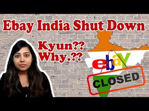 Ebay India Going to close  Ebay.in operation shut down by 14 Aug 2018