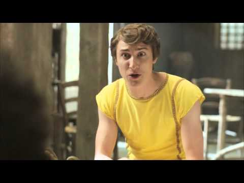 Check out this clip from PLEBS, the brand new comedy (as seen on itv2) which follows three desperate young men from the suburbs as they try to get laid, hold down jobs and climb the social ladder in the big city - a city that happens to be ancient Rome!
