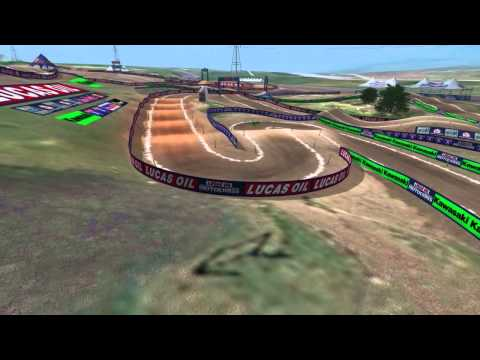 2013 Thunder Valley Animated Track Map: Dynamic Cam