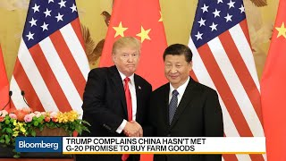 Trump Slams China Ahead of Trade Data
