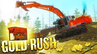 TIER 3 GOLD MINING OPERATION! - Gold Rush: The Game Gameplay