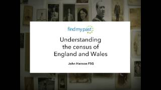 Understanding the Census of England and Wales