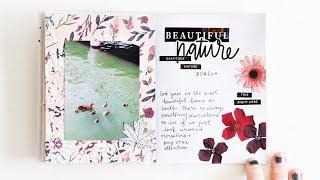 Gratitude Art Journal Challenge Day 5 Texture Paste and Stencils