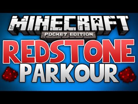REDSTONE PARKOUR Minecraft Pocket Edition