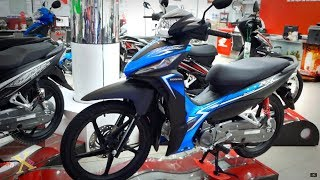 Honda Wave RSX 110i 2019 - Xanh dương - Revo 110i 2019 Blue - Walkaround