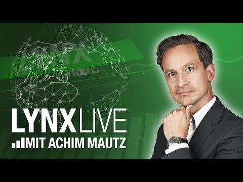 LYNX Live am 19.07.2019 Börse einfach, kurz direkt auf den Punkt gebracht + die Hot Stocks der Woche