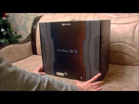 Распаковка коллекционного издания Halo 5: Guardians