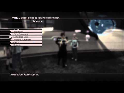 Final Fantasy XIII-2 Monsters: O bestiário completo
