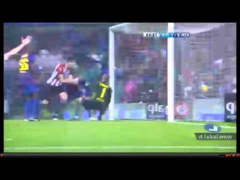 Athletic Bilbao - Barcelona 2-1 own Goal Pique