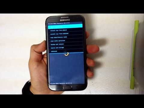 How To Reset Samsung Galaxy Note 2 - Hard Reset and Soft Reset