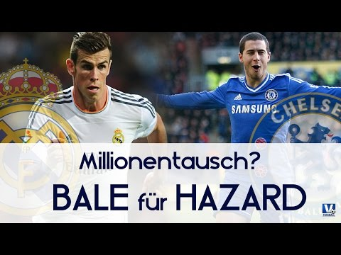 GARETH BALE für EDEN HAZARD ? - Real Madrid Transfer | Fussball & Transfer Talk |