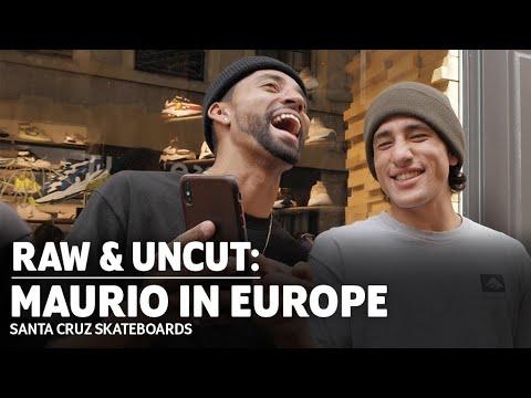 Maurio McCoy in Europe: ROUGH CUT | Santa Cruz Skateboards