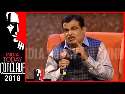 BJP Achieved In 4 years What Congress Couldn't Do In 50 : Nitin Gadkari | India Today Conclave 2018