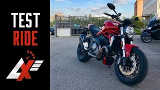 2017 Ducati Monster 1200 TEST RIDE & SOUND