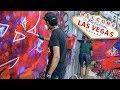 GRAFFITI in Las Vegas   ft. Black -