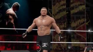 WWE 2K17 Brock Lesnar Entrance [Latin America]