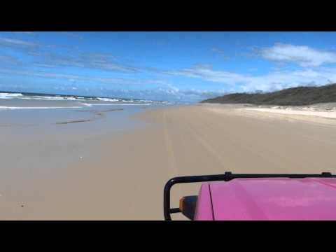 fraser island beach ride