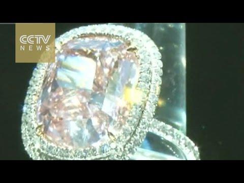Pink diamond ring sells for $28.55 million