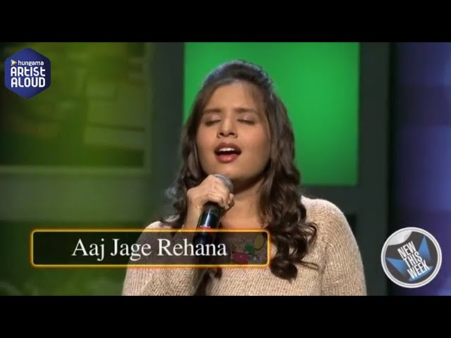 Aaj Jage Rehana I Live Performace I New This Week I Aishwarya Majmudar I ArtistAloud.com