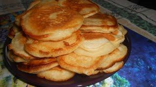 Оладьи  Вкусные Оладушки на кефире  Готовим дома / Delicious Pancakes #Рецепты