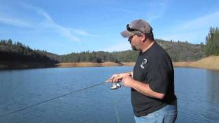 Rollins Lake Trout Fishing.m4v