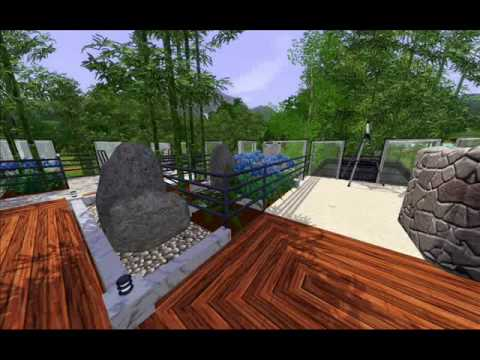 0 The Sims 3 House No.1 The Bambery Terrace.wmv