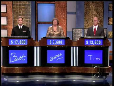 Tim on Jeopardy! (Part 3 of 4)