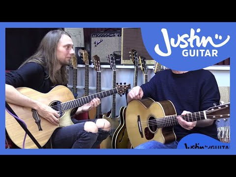 Mike Dawes & Justin Explore The ToneWood Amp - Demo, Presets And Jammin!