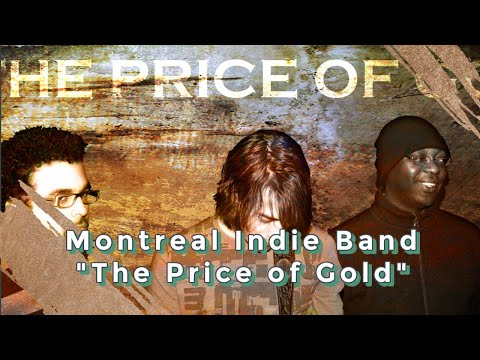 Alternative montreal band, The Price of Gold Oct 27 2011 rehearsal at Studio Base Bin in Montreal