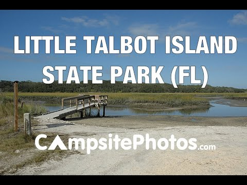 Little Talbot Island State Park, Florida Campsite Photos