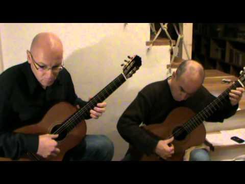 Abel Carlevaro - Arenguay, second movement-Impresiones - Aranjuez Guitar Duo