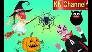 KN Channel Halloween Fun | BÚP BÊ CHỐNG LẠI MA CÀ RỒNG DRACULA