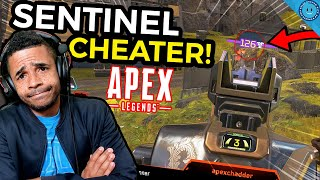 I Caught An obnoxious CHEATER In Apex Legends Using The Sentinel! (Apex Legends Season 4 - Gameplay)