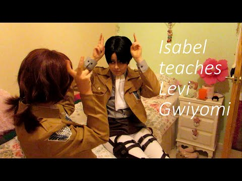 Attack on Titan - Isabel teaches Levi Gwiyomi