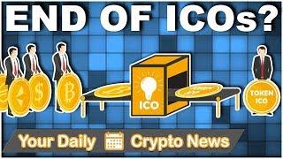 Altcoin & Crypto News: End of ICOs? | $STRAT $WTC $EOS $NANO $TRX $OCN