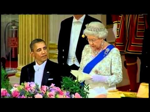 Obama honoured by The Queen